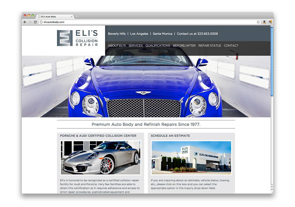 Elis Collision Kyle R Thompson Art Direction Design - Audi certified collision repair